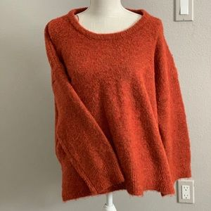 Willow and clay wool sweater